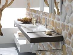 - Inset rectangular enamelled steel washbasin BETTEBOWL   Inset washbasin - Bette