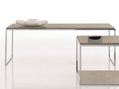 - Low rectangular coffee table BASIC - Presotto Industrie Mobili