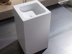 - Freestanding square single washbasin BETTEONE MONOLITH - Bette
