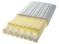 - Polyurethane foam pillow with removable cover AIR DREAM MK 3000 - Hülsta-Werke Hüls