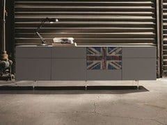 - Contemporary style modular sideboard INCLINART | Modular sideboard - Presotto Industrie Mobili