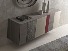 - Modular suspended sideboard with doors INCLINART | Suspended sideboard - Presotto Industrie Mobili