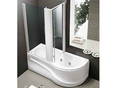 Whirlpool bathtub with shower GAMMA BOX - HAFRO