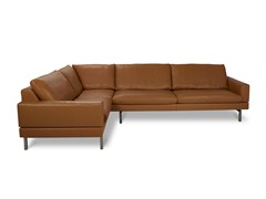 - Corner leather sofa TIGRA | Leather sofa - Jori