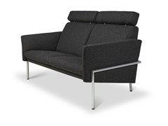 - Fabric sofa with headrest TOSCA | Fabric sofa - Jori