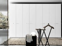 - Sectional lacquered wardrobe Tecnopolis anta LISCIA - Presotto Industrie Mobili