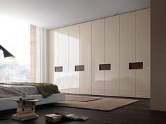 - Sectional lacquered wardrobe Tecnopolis anta ALIBI - Presotto Industrie Mobili