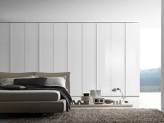 - Sectional wardrobe Tecnopolis anta GLASS - Presotto Industrie Mobili