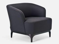 - Guest chair with armrests ELLE/P SMALL | Armchair - La Cividina