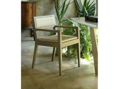 Sedia in legno con braccioliAMALFI   Sedia con braccioli - COLLI CASA