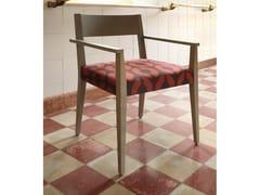 Sedia in legno massello con braccioliRAPALLO   Sedia con braccioli - COLLI CASA