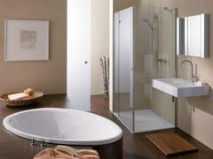 - Built-in enamelled steel bathtub BETTEPOOL OVAL - Bette