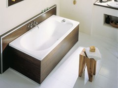 - Built-in enamelled steel bathtub BETTEPUR - Bette