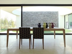 - Rectangular wooden table CAPRI | Rectangular table - COLLI CASA