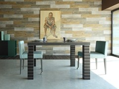 - Square wooden table FIRENZE | Square table - COLLI CASA