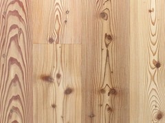 - Knotted larch brushed parquet LARCH PLANKS | Larch parquet - CADORIN GROUP