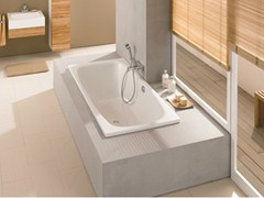 - Built-in enamelled steel bathtub BETTESTEEL DUO - Bette