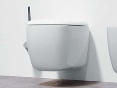 - Wall-hung ceramic toilet MONO' | Wall-hung toilet - CERAMICA FLAMINIA