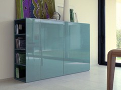 - Lacquered highboard with doors VOLTERRA | Highboard - COLLI CASA