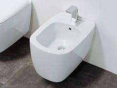 - Wall-hung ceramic bidet MONO' | Wall-hung bidet - CERAMICA FLAMINIA