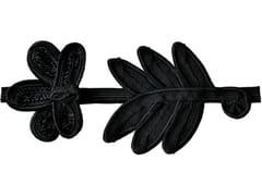 - Fabric trimmings BLACK DAISY - COLLI CASA