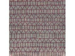 - Patterned handmade wool rug CONTINUUM - COLLI CASA