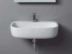 - Wall-mounted ceramic washbasin MONO' | Wall-mounted washbasin - CERAMICA FLAMINIA