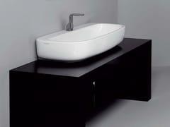 - Countertop ceramic washbasin MONO' | Countertop washbasin - CERAMICA FLAMINIA