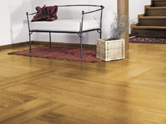 - Floating untreated sandblasted robinia parquet PREGIO PLANKS | Acacia parquet - CADORIN GROUP