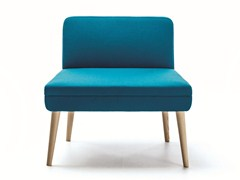 - Upholstered guest chair SERIE_50W | Easy chair - La Cividina