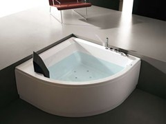 Whirlpool wooden bathtub ERA PLUS 140X140 - HAFRO