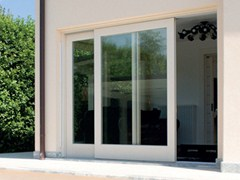 - Wooden patio door Patio door - BG legno