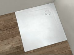 - Square shower tray PIETRAFINA | Square shower tray - HAFRO