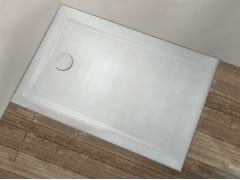 - Rectangular shower tray PIETRAFINA   Rectangular shower tray - GRUPPO GEROMIN