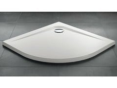 - Corner acrylic shower tray ZEROQUATTRO® | Corner shower tray - GRUPPO GEROMIN