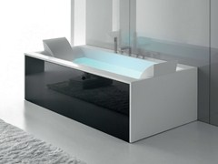 - Whirlpool Corian® bathtub SENSUAL 190 x 100 - GRUPPO GEROMIN