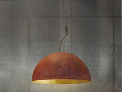 - Handmade gold leaf pendant lamp THE QUEEN MEDIUM - Mammalampa
