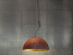 - Handmade gold leaf pendant lamp THE QUEEN SMALL - Mammalampa