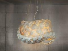 - Handmade paper pendant lamp THE BRIDE LARGE | Pendant lamp - Mammalampa