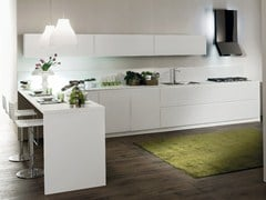 - Fitted kitchen CRETA FLUTE - Del Tongo