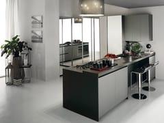 - Fitted kitchen CRETA FLUTE - Del Tongo