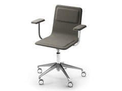 - Task chair with 5-Spoke base with armrests LAIA | Task chair with armrests - ALKI