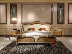 - Double bed with upholstered headboard ARTS | Bed with upholstered headboard - Carpanelli Classic