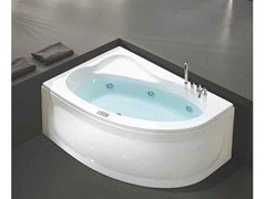 Whirlpool oval bathtub LUNA - HAFRO