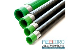 Tubo multistrato in PPR e lamina d'alluminioALFAIDRO ALUMINIUM - PLASTICA ALFA
