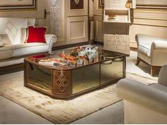 Tavolino basso rettangolare in legnoARTS | Tavolino - CARPANELLI CLASSIC