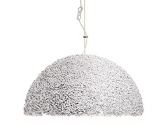 - Handmade marble pendant lamp with Swarovski® Crystals THE DUCHESS LARGE - Mammalampa