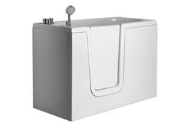 Vasca da bagno rettangolare in vetroresina con porta650   Vasca da bagno rettangolare - PONTE GIULIO