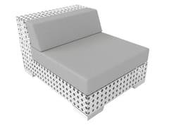 - Modular Sunbrella® garden armchair PORTO VECCHIO | Modular garden armchair - Sérénité Luxury Monaco