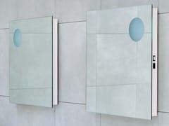 - Square wall-mounted bathroom mirror SIMPLE 70/90 | Square mirror - CERAMICA FLAMINIA